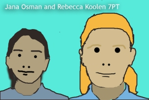 Jana Osman and Rebecca Koolen7PT